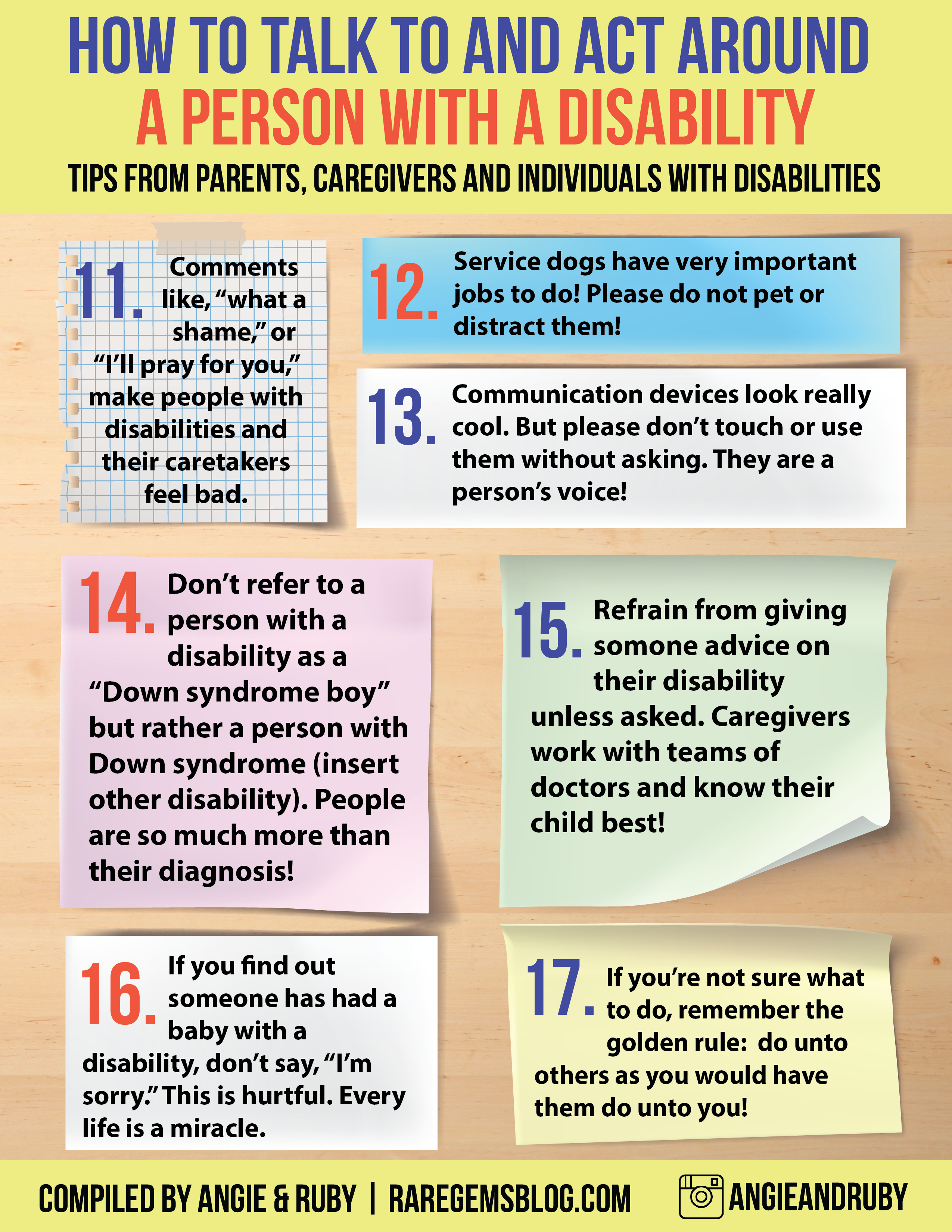 Tips for disability 32